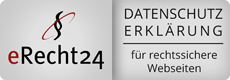 Siegel Datenschutzerklärung eRecht24